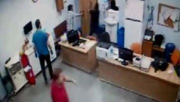 Hastanede baltalı saldırı