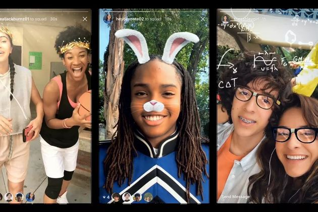 Instagram, Snapchat'in yüz filtrelerini de kopyaladı