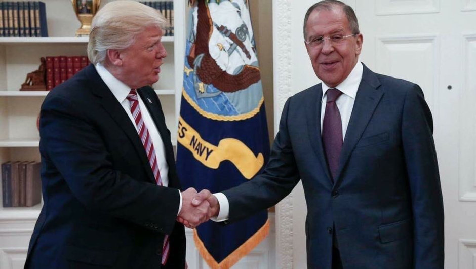 Donald Trump Sergey Lavrov Rusya ABD