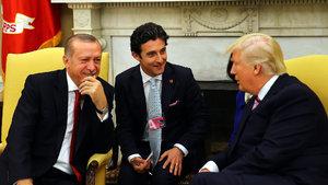 ABD Başkanı Trump ile Cumhurbaşkanı Erdoğan Beyaz Saray'da bir araya geldi