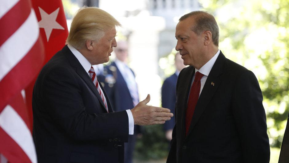 İbrahim Kalın Recep Tayyip Erdoğan Donald Trump