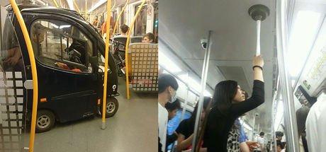 Metro ve otobüslerde kayıt altına alındı
