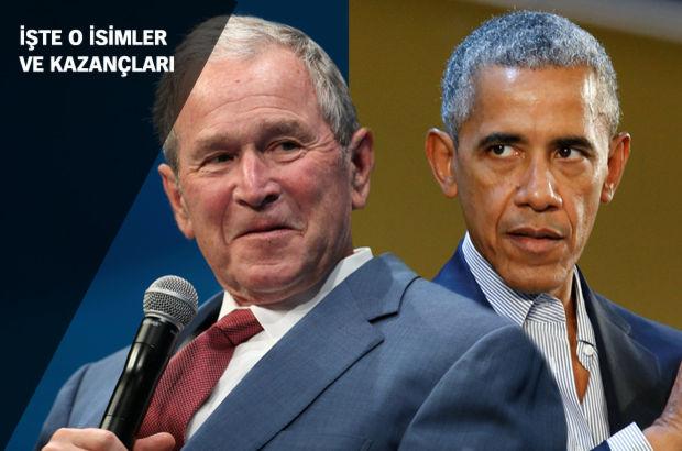 Eski başkanlar konuşarak kazanıyor!