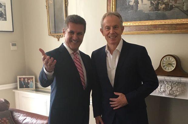 Mustafa Sarıgül, İngiltere eski Başbakanı Tony Blair ile görüştü