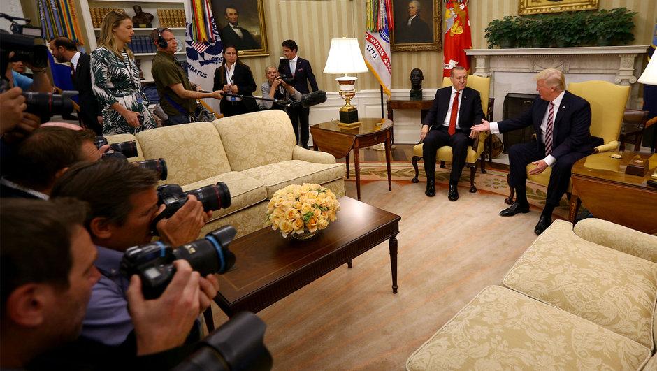 Beyaz Saray Recep Tayyip Erdoğan Donald Trump