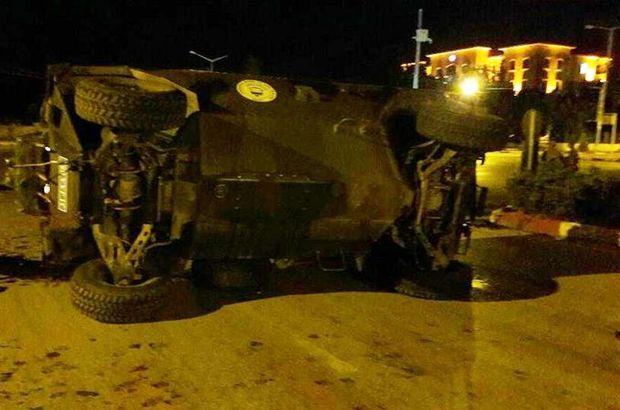 Hatay'da askeri araçla otomobil çarpıştı! 8 yaralı