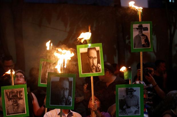 Meksikalı gazeteciler: Bizi öldürüyorlar