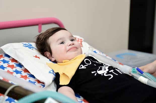 SMA hastası Çağan bebek ilaç bekliyor