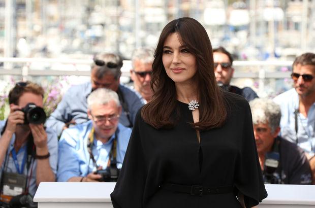 Cannes Film Festivali'nde Monica Bellucci rüzgarı