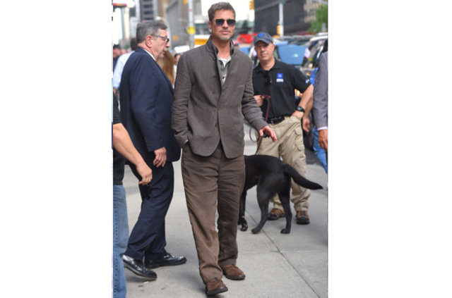Brad Pitt'in son hali şaşırttı