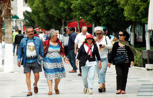 Bodrum'da kruvaziyer turizmi