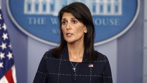 ABD'nin BM Temsilcisi Nikki Haley'den 'Kudüs' çıkışı