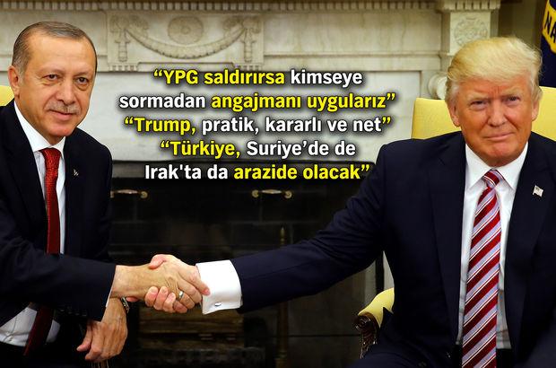 """""""ABD'nin Suriye için kapımızı çalacağına inanıyorum"""""""