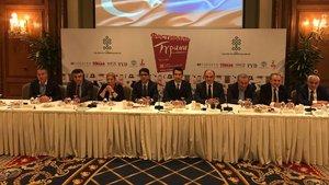 Turizmciler Moskovada'ki Türkiye festivali için tek yumruk