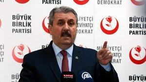 BBP Genel Başkanı Mustafa Destici: 100 bine yakın kaçak Ermeni sınır dışı edilmeli