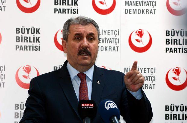 Mustafa Destici: 100 bine yakın kaçak Ermeni sınır dışı edilmeli