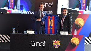 Nef FC Barcelona'nın sponsoru oldu