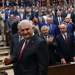 AK PARTİ TÜZÜĞÜNE BİNALİ YILDIRIM İÇİN 'İSTİSNAİ' MADDE