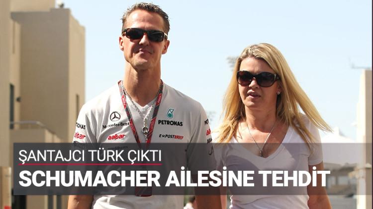 Almanya'da Michael Schumacher'in eşine ve çocuklarına şantaj yapan kişinin Hüseyin B. (25) isimli bir Türk olduğu ortaya çıktı.