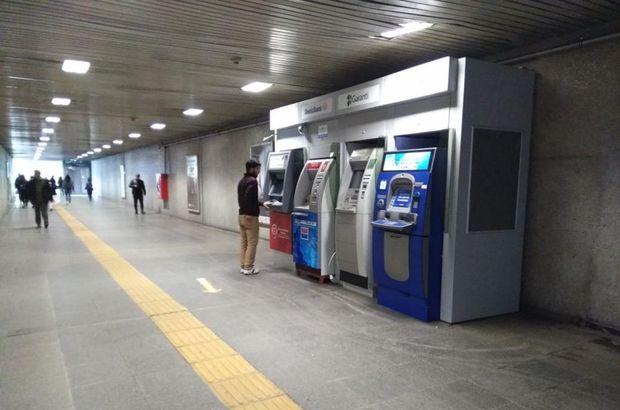Banka ATM'leri tekrar yerleştirildi