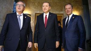 Cumhurbaşkanı Erdoğan, Juncker ve Tusk'la görüşecek