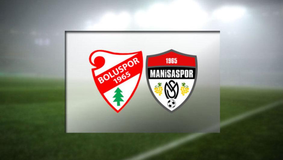 Boluspor - Manisaspor