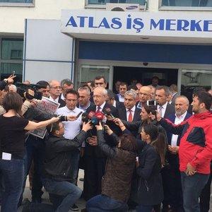 Kılıçdaroğlu'ndan Sözcü gazetesine ziyaret