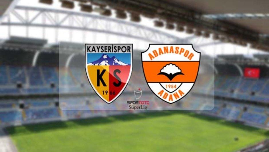 Kayserispor - Adanaspor