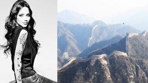 Çin Seddi'nde kanserli çocuklar için koşacak
