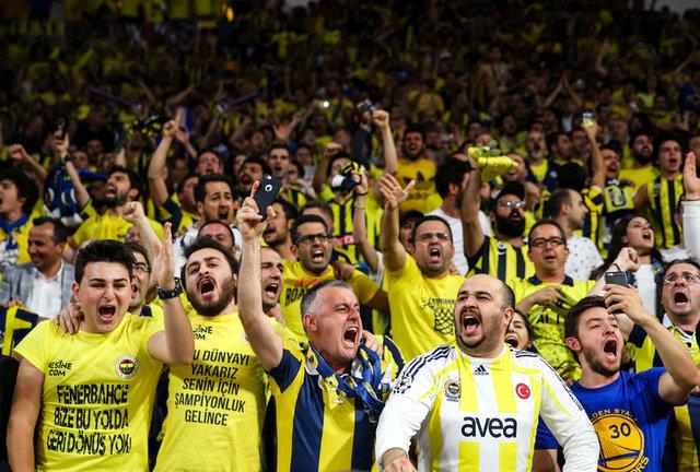 Fenerbahçe - Real Madrid maçından kareler