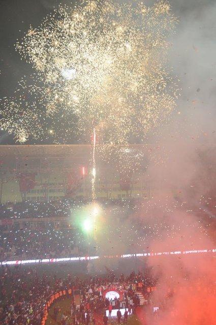 TFF 1. Lig'de şampiyon Sivasspor!
