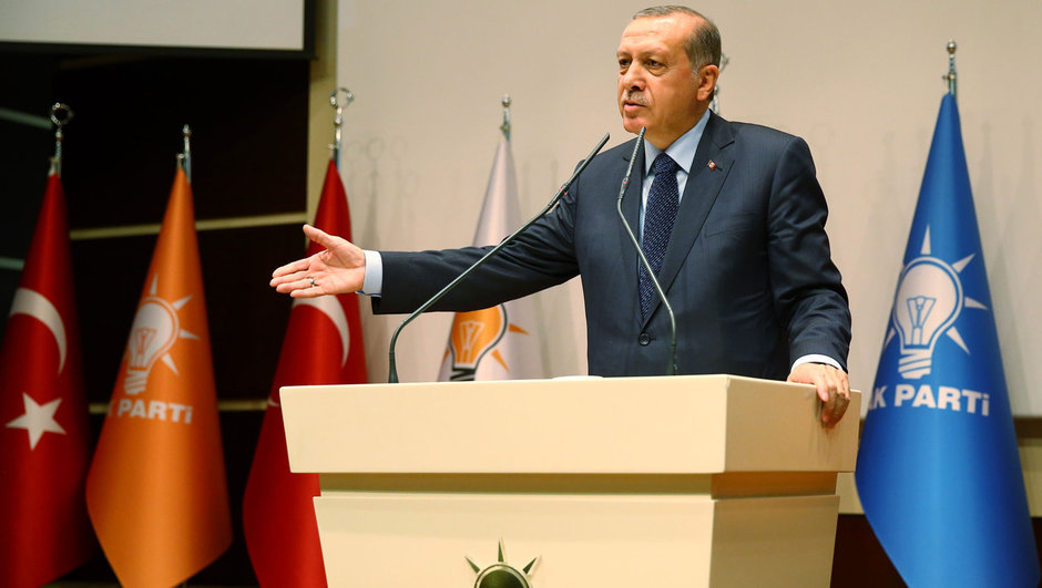 Cumhurbaşkanı Recep Tayyip Erdoğan Ahmet Davutoğlu Binali Yıldırım