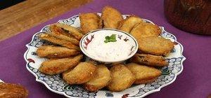 Peynirli patlıcan böreği tarifi