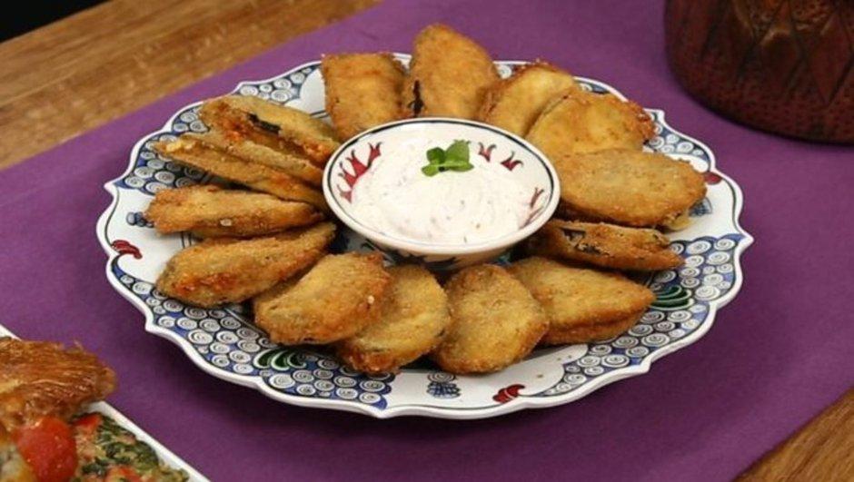 Peynirli patlıcan böreği
