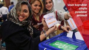 İran'da ilk sonuçlar açıklandı! İranlılar 'devam' dedi!
