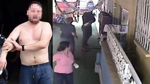 Antalya'da bir kişi oğlunu görmek için bıçakla kreşi bastı