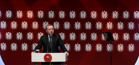 Erdoğan: Bize ders vermeye kalkmaları komik kaçıyor