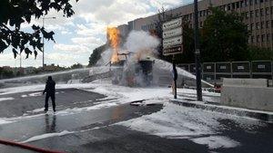 SON DAKİKA - Ankara Adliyesi önünde doğalgaz patlaması!