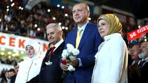 Cumhurbaşkanı Erdoğan, AK Parti Kongresi'nde yeniden Genel Başkanı seçildi