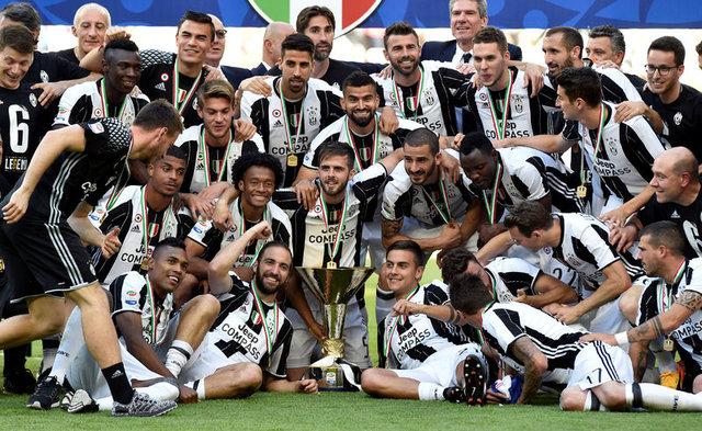 Şampiyon Juventus tarih yazdı!