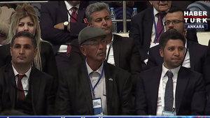 Ömer Halisdemir'in babası AK Parti Kongresi'ne katıldı