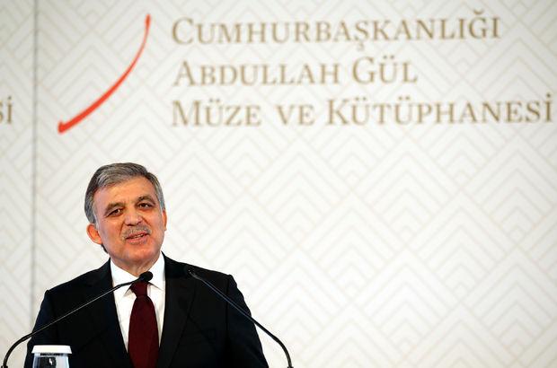 Abdullah Gül'den mesaj: Kongremizin hayırlı olmasını diliyorum