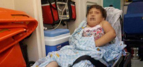Denizli'de iki çocuk evde yemek yapmak isterken yangın çıktı