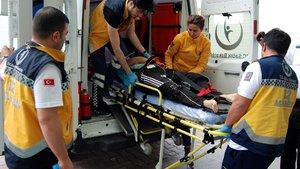 Kayseri'de bisikletle gezinti yapan 2 çocuk kayalıklardan düştü
