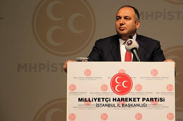 MHP İstanbul il başkanlığına yeniden Mehmet Bülent Karataş seçildi