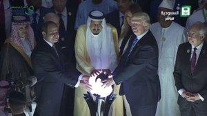 Suudi Arabistan'da ilginç görüntü!
