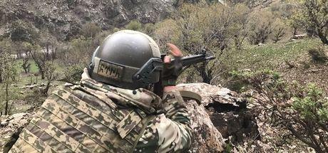 Amanos'ta çatışma! 1 asker yaralandı
