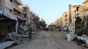 Humus'un merkezi tamamen rejimin