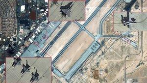 Çin, ABD'nin Nellis Havaüssü'nün fotoğraflarını yayınladı!