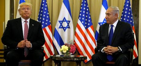 Donald Trump'tan İsrail'de Rusya mesajı
